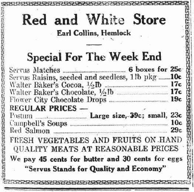 hcl_business_hemlock_red_white_store05_1925_newspaper_ad_livonia_gazette_copy