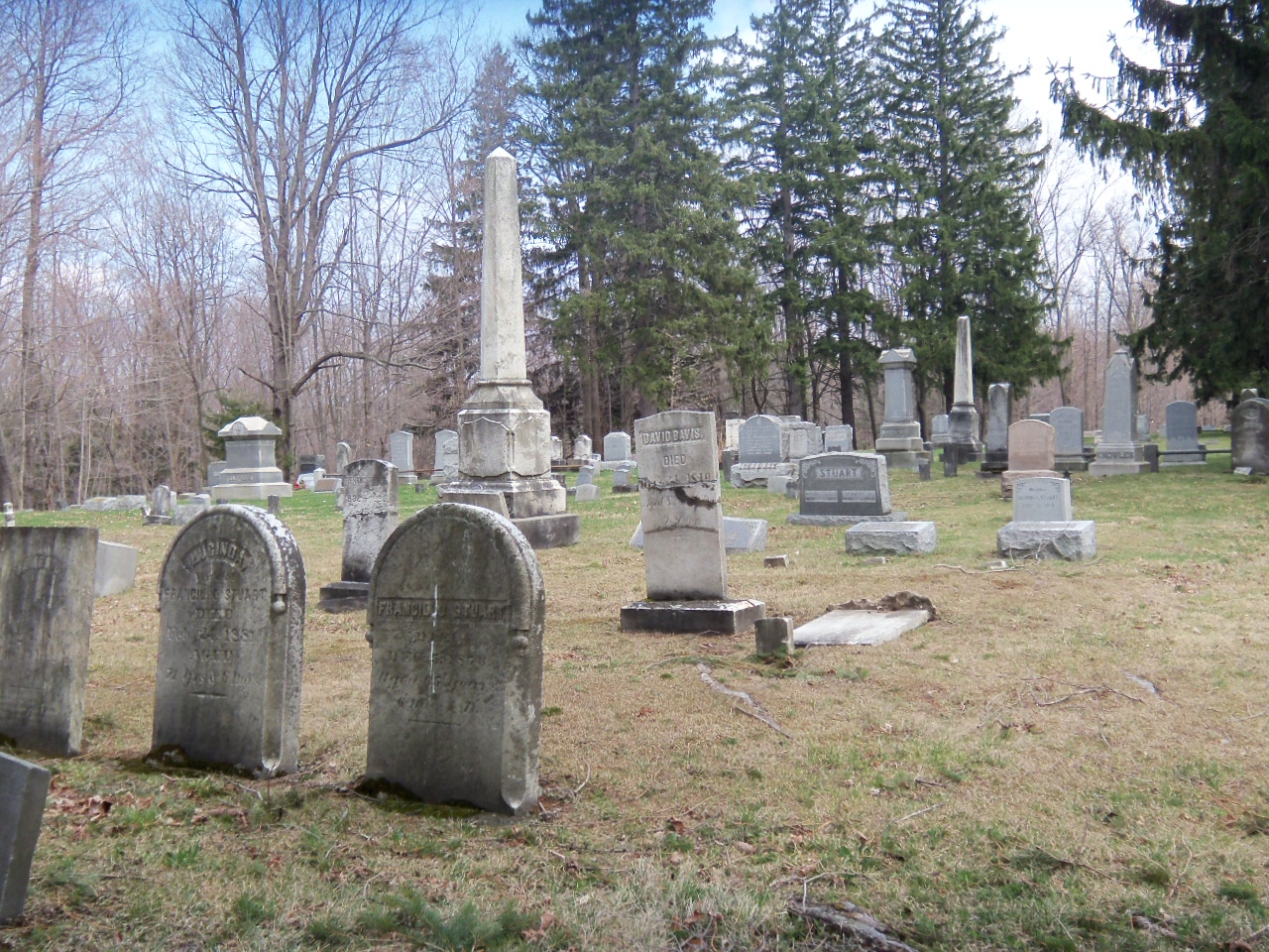 Evergreen Cemetery Hemlock And Canadice Lakes
